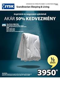 JYSK akciós újság 2020. 10.29-11.11