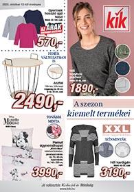 Kik textil akciós újság 2020. 10.12-től