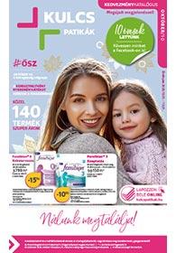 Kulcs patika akciós újság 2020. 10.01-10.31