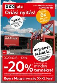 XXXLutz akciós újság 2020. 10.15-10.27