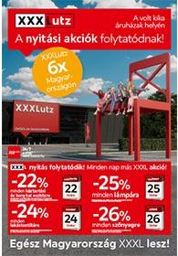 XXXLutz akciós újság 2020. 10.21-11.03