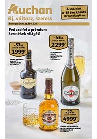 Auchan Prémium élelmiszer katalógus 2020. 11.26-12.24