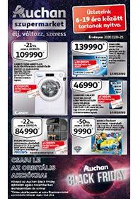 Auchan Szupermarket akciós újság 2020. 11.19-11.25
