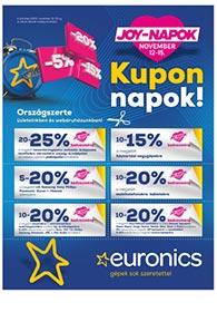 Euronics JOY-Napok 2020. 11.12-11.15