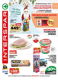 Interspar akciós újság 2020. 11.19-11.25