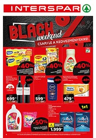 Interspar BLACK FRIDAY 2020. 11.26-11.29