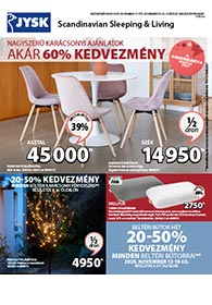 JYSK akciós újság 2020. 11.12-11.25