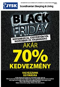 JYSK Black Friday 2020. 11.26-11.29