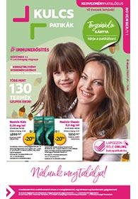 Kulcs patika akciós újság 2020. 11.01-11.30