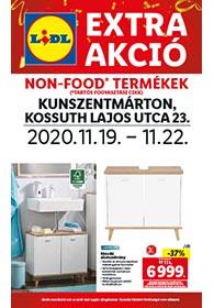 Lidl Kunszentmárton akciós újság 2020. 11.19-11.22