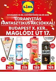 Lidl Maglódi út akciós újság 2020. 11.19-11.22