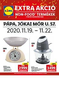 Lidl Pápa akciós újság 2020. 11.19-11.22