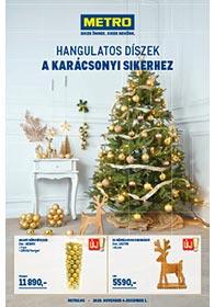 Metro HORECA Karácsonyi Dekoráció katalógus 2020. 11.04-12.01