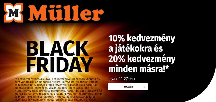 Müller BLACK FRIDAY 2020