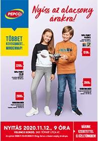 PEPCO akciós újság 2020. 11.12–11.18