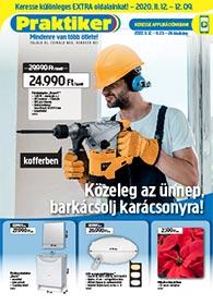 Praktiker akciós újság 2020. 11.12-11.23