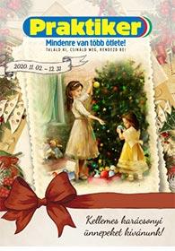 Praktiker Karácsonyi katalógus 2020. 11.02-12.31