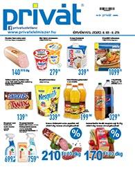 Privát Élelmiszer akciós újság 2020. 11.18-11.29