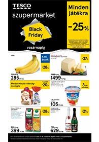 Tesco szupermarket akciós újság 2020. 11.25-12.02