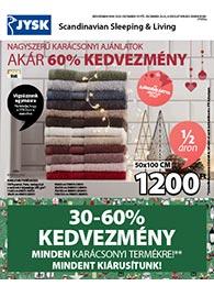 JYSK akciós újság 2020. 12.10-12.23