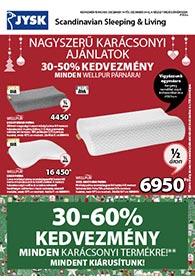 JYSK akciós újság 2020. 12.14-12.23