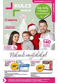 Kulcs patika akciós újság 2020. 12.01-12.31