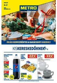 Metro katalógus Kiskereskedőknek 2020. 12.02-12.27