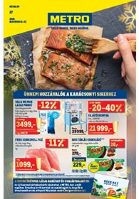 Metro Élelmiszer és Szezonális katalógus 2020 12.16-12.27