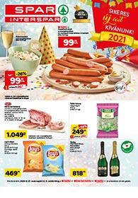 Spar akciós újság 2020. 12.27-12.31