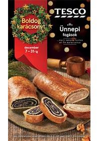 Tesco Karácsonyi katalógus 2020. 12.07-12.31