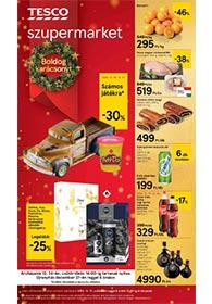 Tesco szupermarket akciós újság 2020. 12.17-12.27