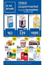 Tesco szupermarket akciós újság 2021. 01.04-01.13