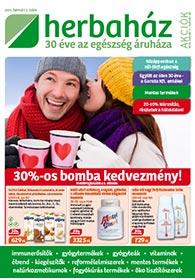 Herbaház akciós újság 2021. 02.01-02.28