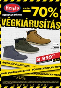 Hervis Debrecen akciós újság 2021. 01.19-01.31