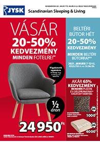 JYSK akciós újság 2021. 01.07-01.20
