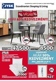 JYSK akciós újság 2021. 01.14-01.27
