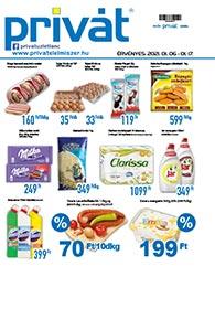 Privát Élelmiszer akciós újság 2021. 01.06-01.17