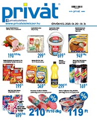 Privát Élelmiszer akciós újság 2021. 01.20-01.31