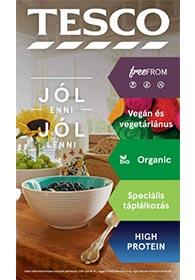 Tesco Egészséges táplálkozás katalógus 2021. 01.14-02.20