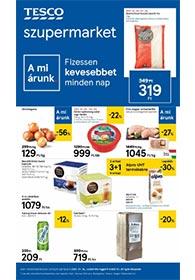 Tesco szupermarket akciós újság 2021. 01.14-01.20