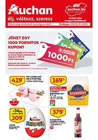 Auchan akciós újság 2021. 02.25-03.03