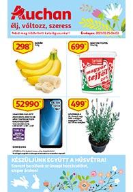 Auchan akciós újság 2021. 03.25-04.03