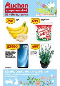Auchan Szupermarket akciós újság 2021. 03.25-04.03
