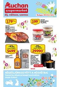 Auchan Szupermarket Húsvéti katalógus 2021. 03.11-04.03
