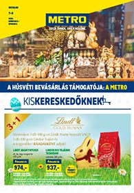 Metro katalógus Kiskereskedőknek 2021. 03.03-04.06