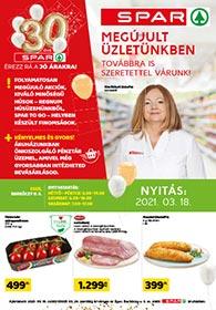 Spar Eger akciós újság 2021. 03.18-03.24