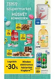Tesco szupermarket akciós újság 2021. 03.18-03.24