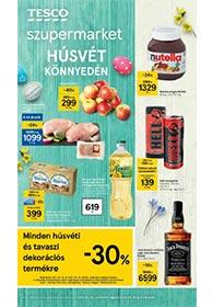 Tesco szupermarket akciós újság 2021. 03.25-03.29