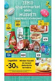 Tesco szupermarket akciós újság 2021. 03.30-04.03