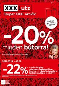 XXXLutz akciós újság 2021. 03.10-03.23